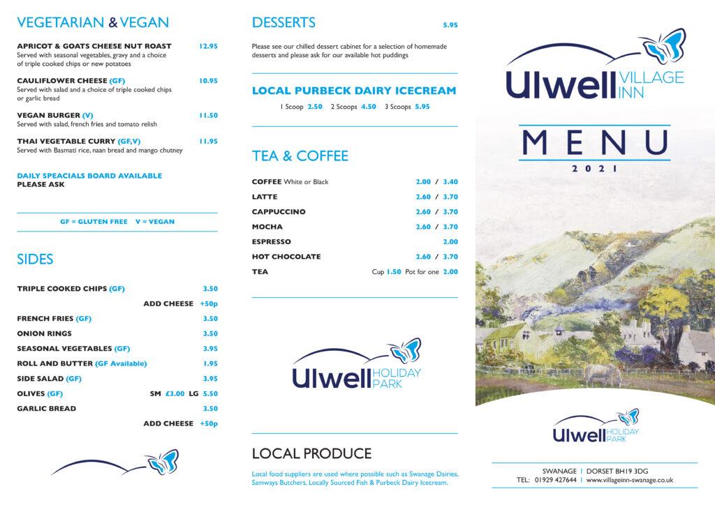 the village inn restaurant menu